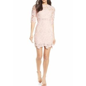 LULUS A Fine Romance Lace Cocktail Dress Small